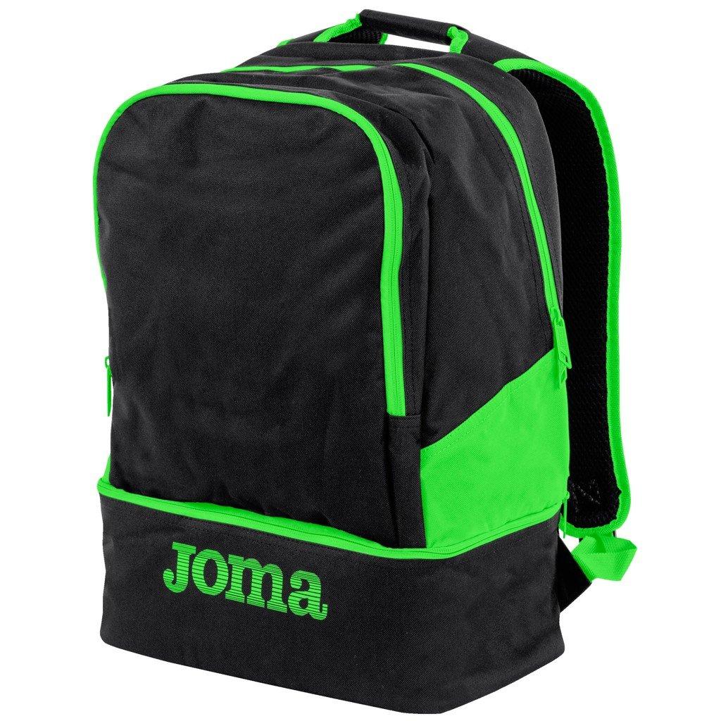 Sportovní batoh Joma Estadio III - černá/fluo zelená
