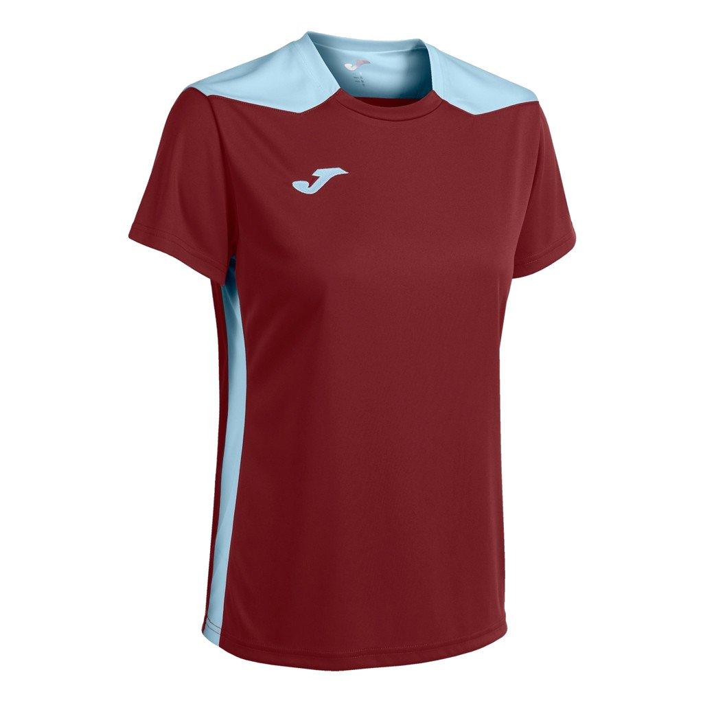 Dámský sportovní dres Joma Championship VI - vínová/světle modrá