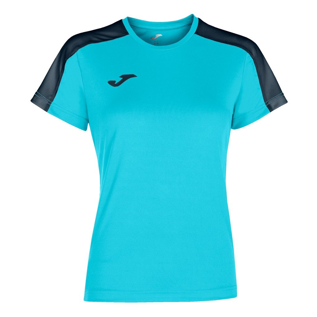 Dámský sportovní dres Joma Academy III - fluo tyrkysová/tmavě modrá