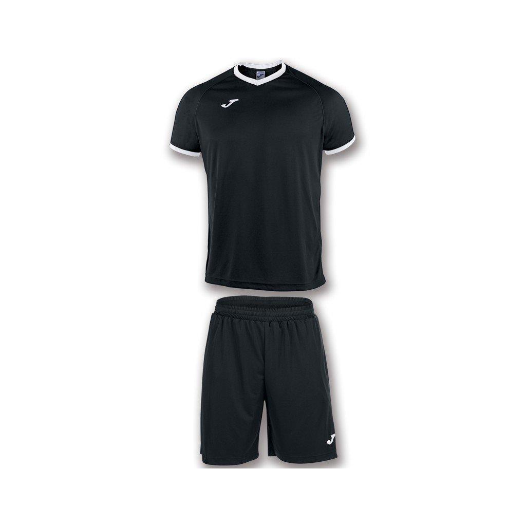 Sportovní dres + trenýrky Joma Academy černá/bílá