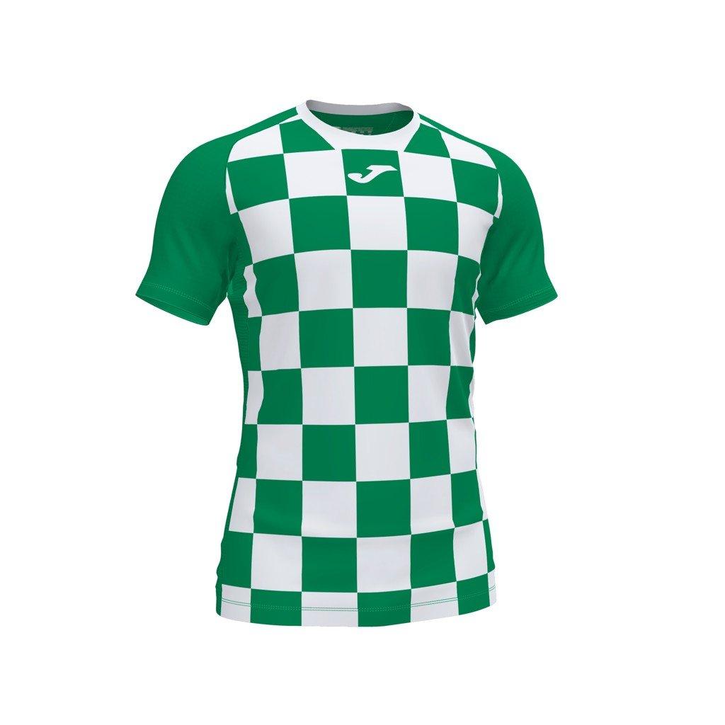Sportovní dres Joma Flag II - zelená/bílá