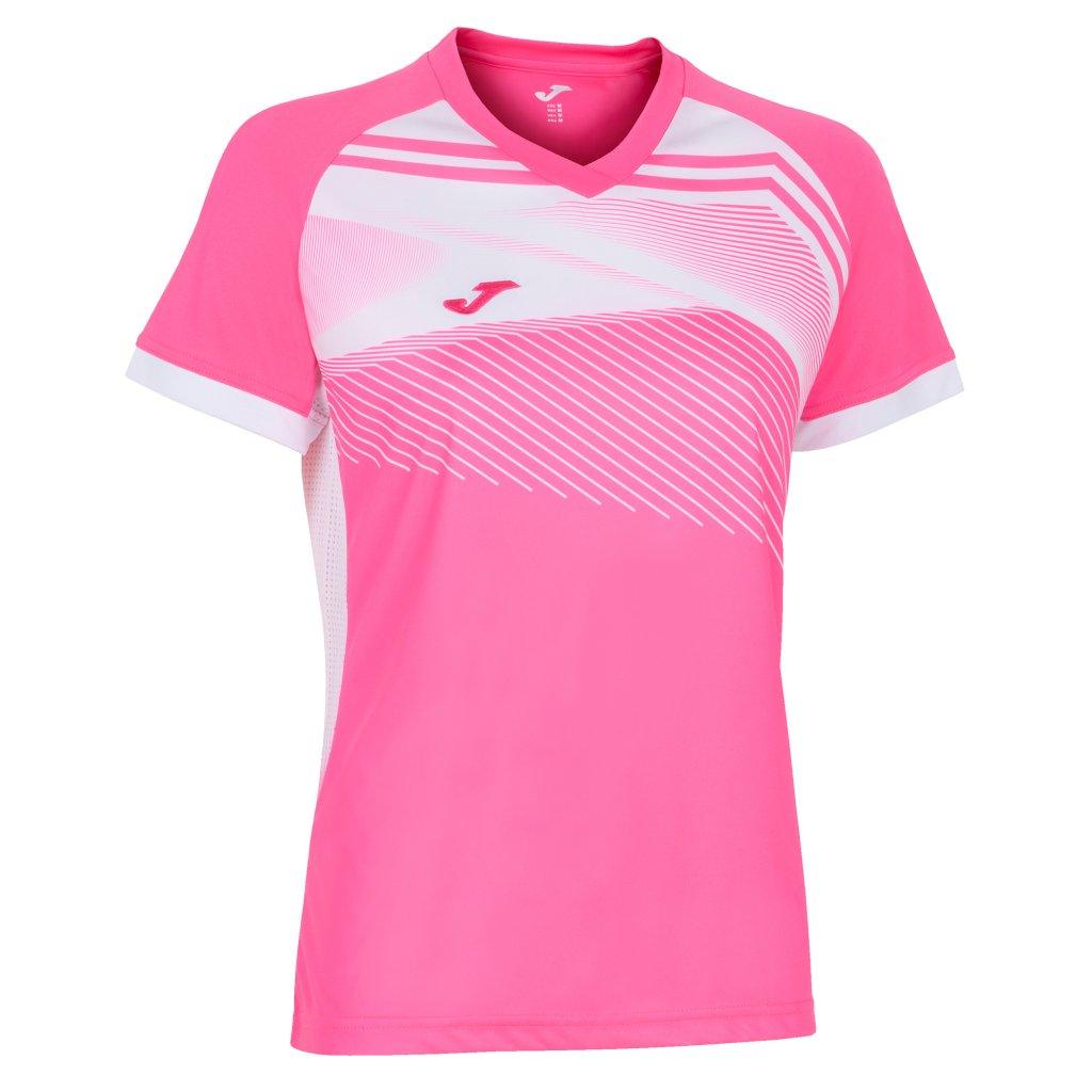 Dámský sportovní dres Joma Supernova II - fluo růžová/bílá