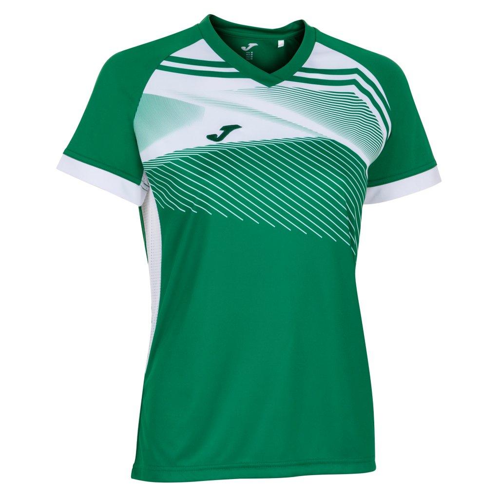 Dámský sportovní dres Joma Supernova II - zelená/bílá