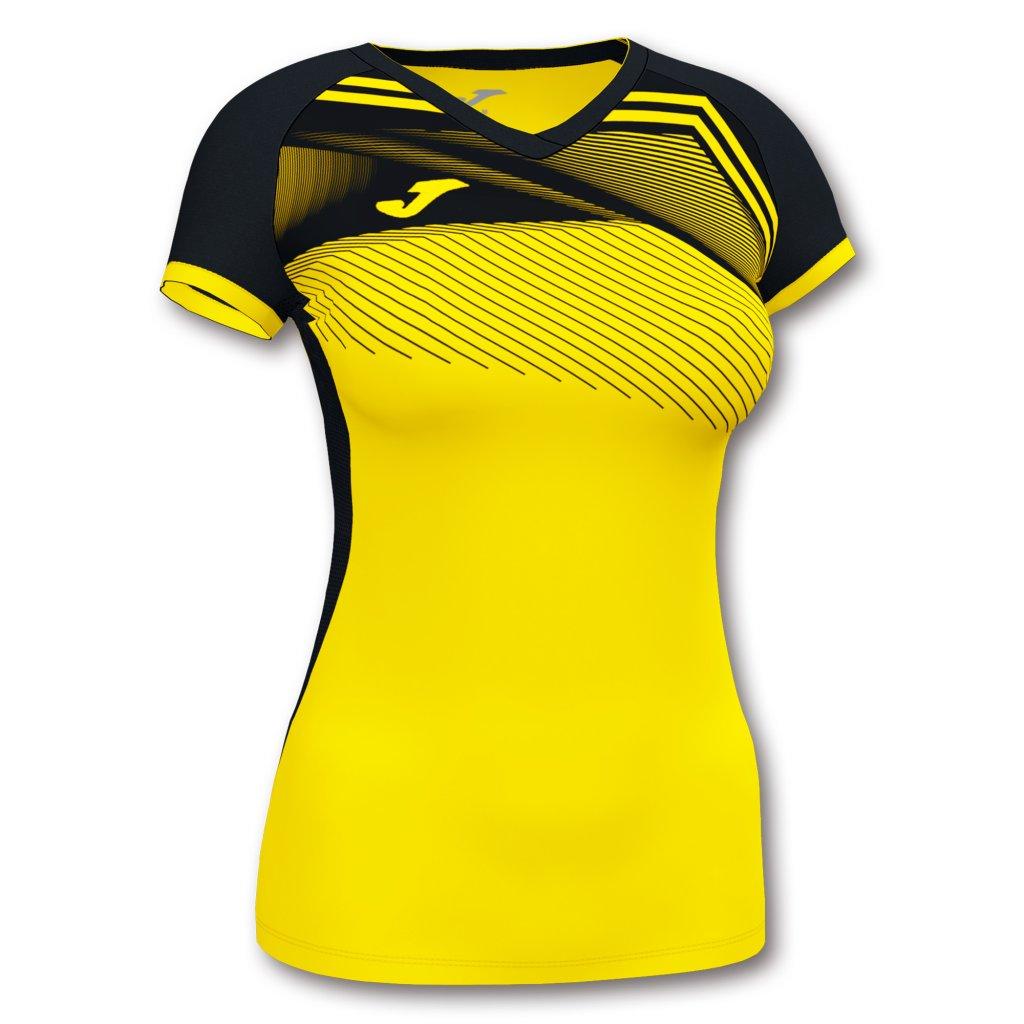 Dámský sportovní dres Joma Supernova II - žlutá/černá