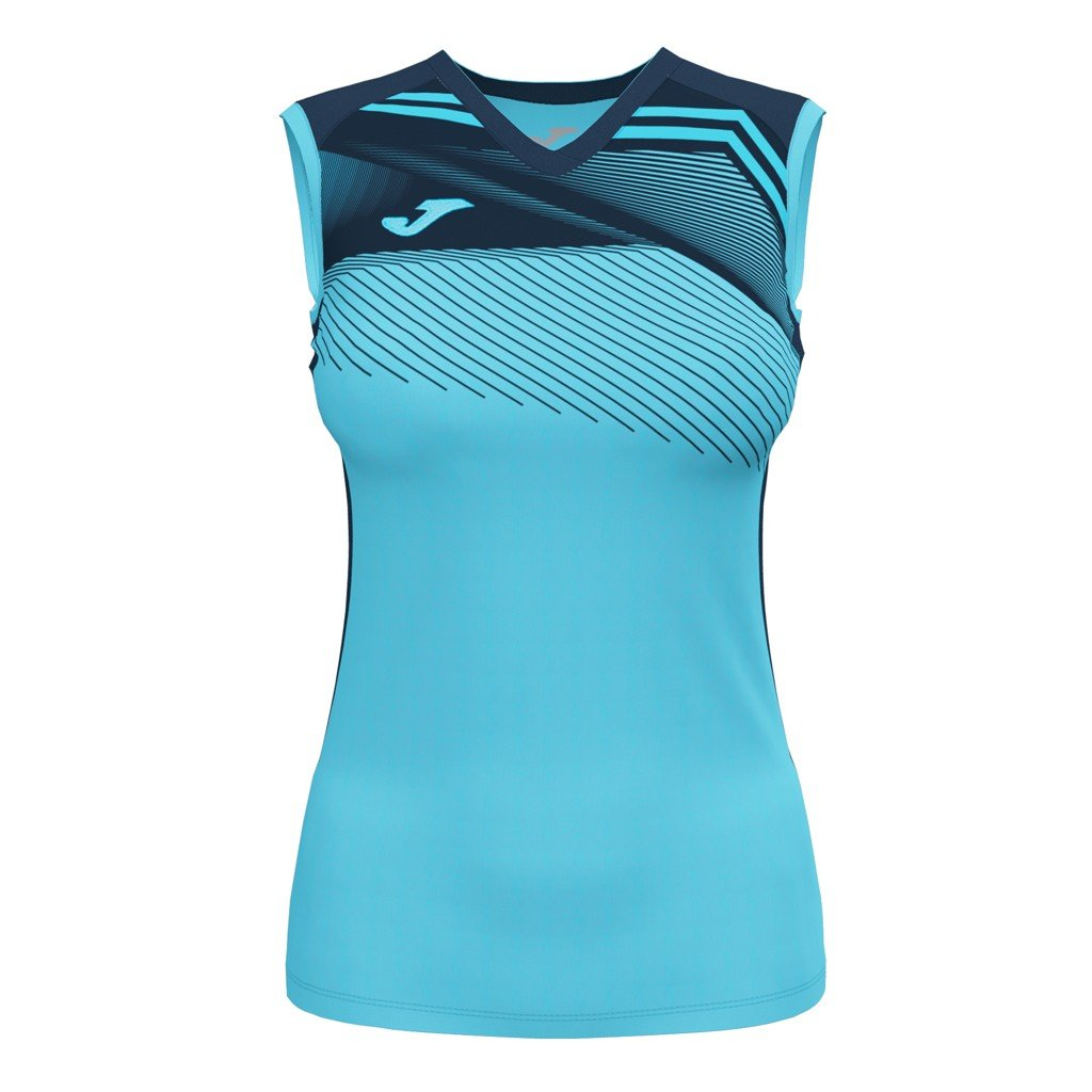 Dámský sportovní dres Joma Supernova II B/R - fluo tyrkysová/tmavě modrá