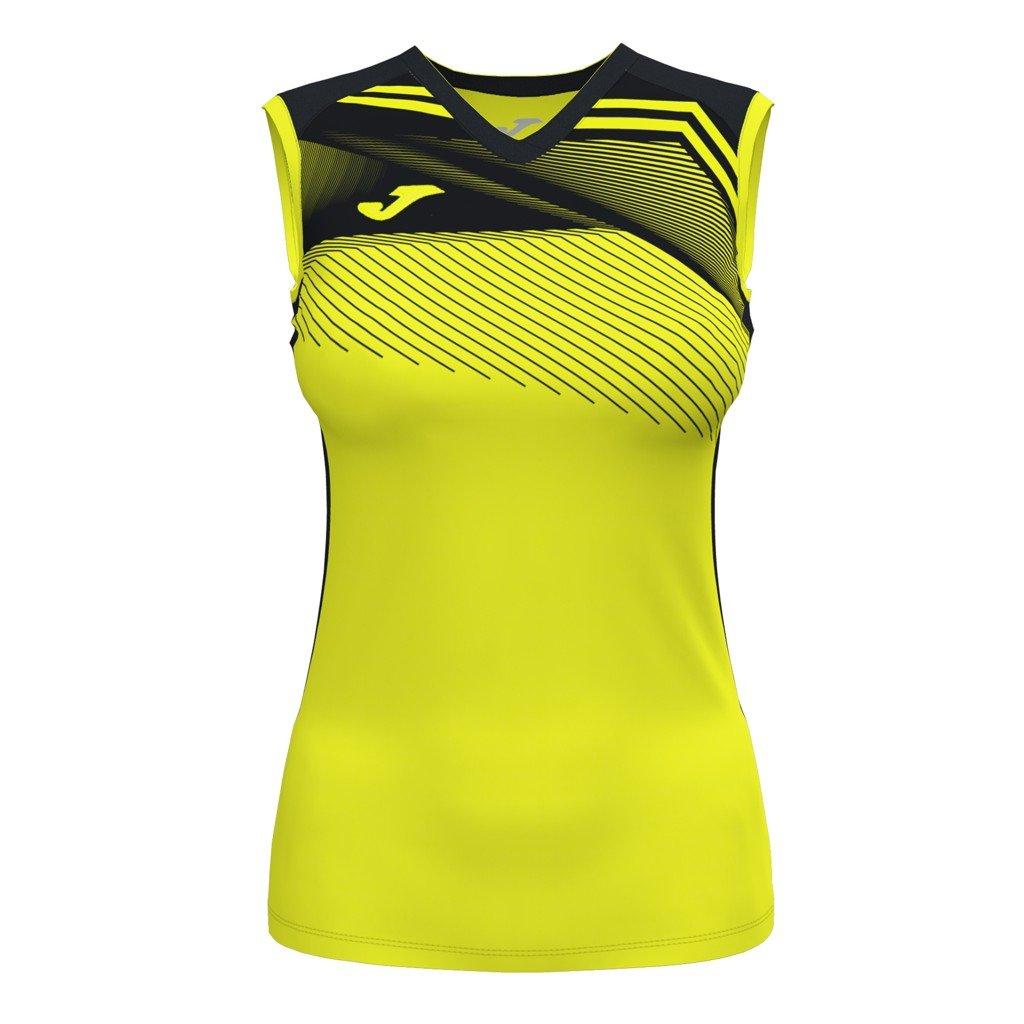 Dámský sportovní dres Joma Supernova II B/R - fluo žlutá/černá
