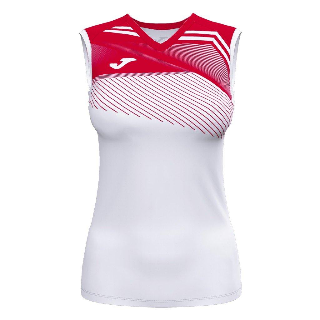 Dámský sportovní dres Joma Supernova II B/R - bílá/červená