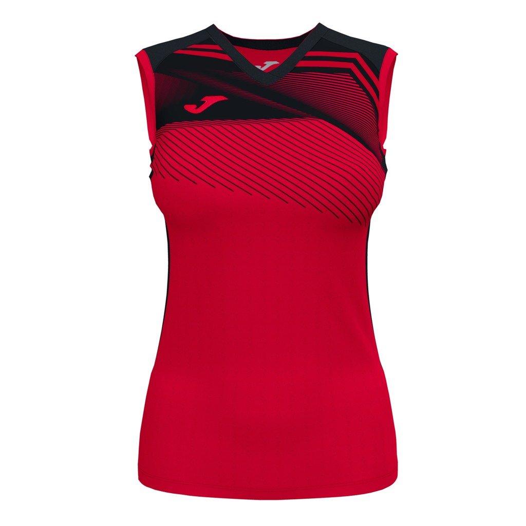 Dámský sportovní dres Joma Supernova II B/R - červená/černá