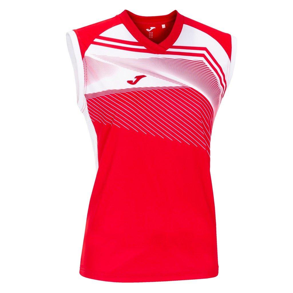 Dámský sportovní dres Joma Supernova II B/R - červená/bílá