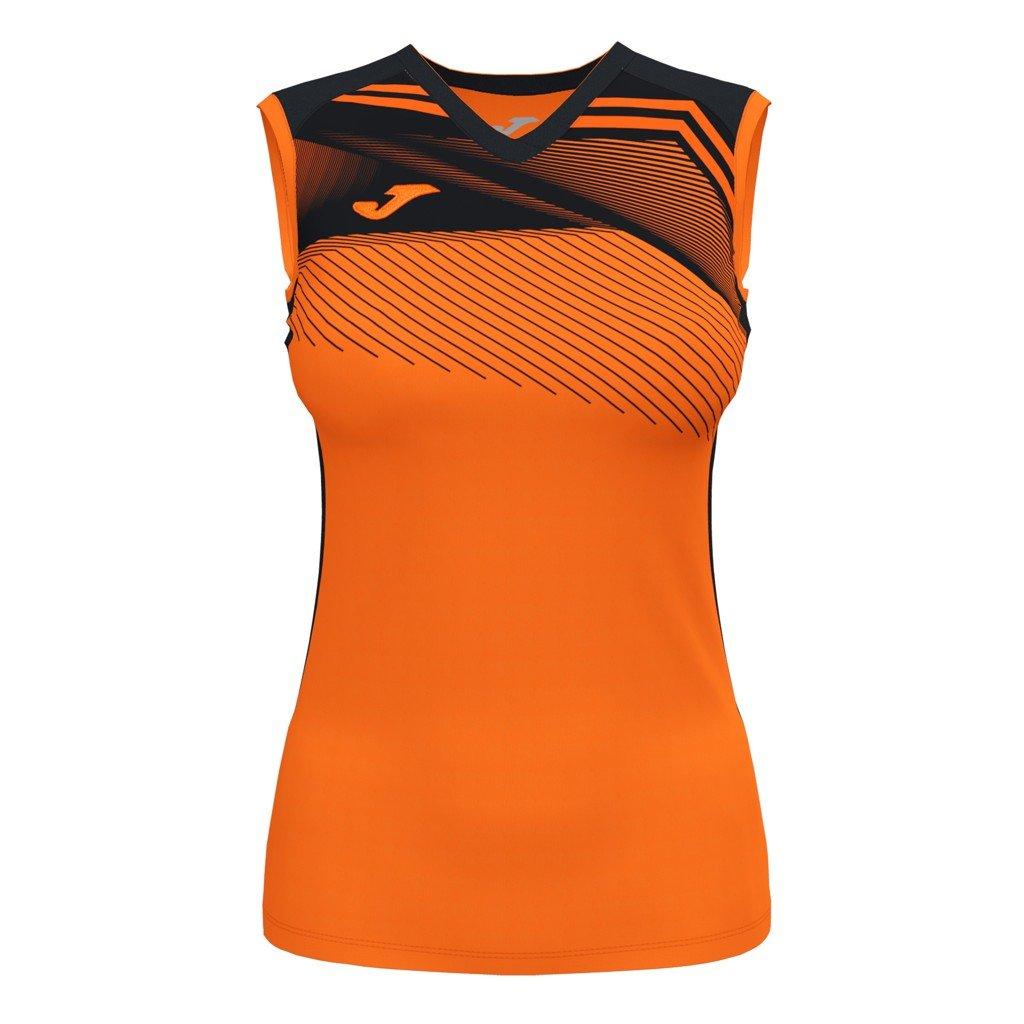 Dámský sportovní dres Joma Supernova II B/R - oranžová/černá