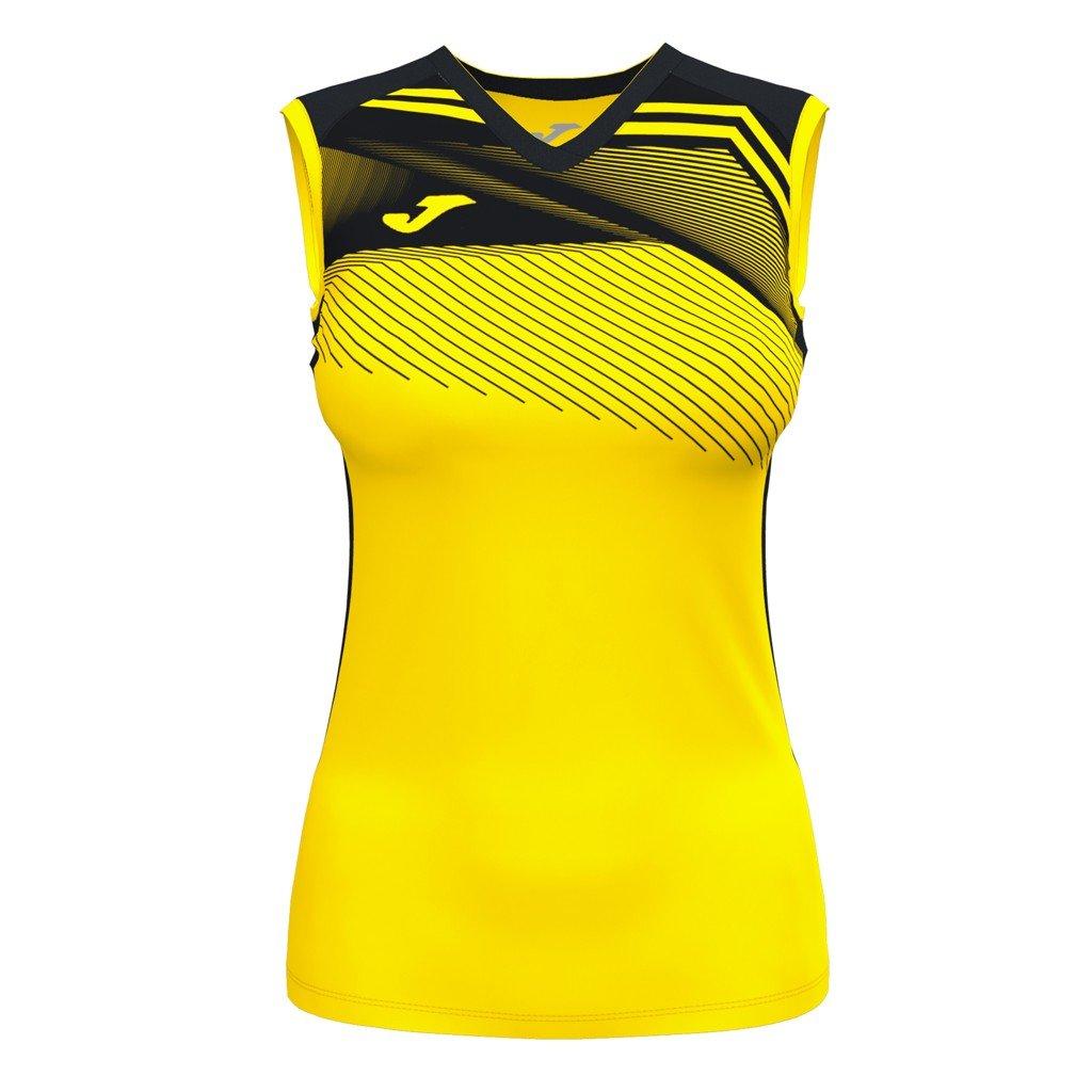 Dámský sportovní dres Joma Supernova II B/R - žlutá/černá
