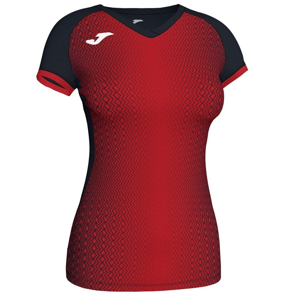 Dámský sportovní dres Joma Supernova - červená/černá