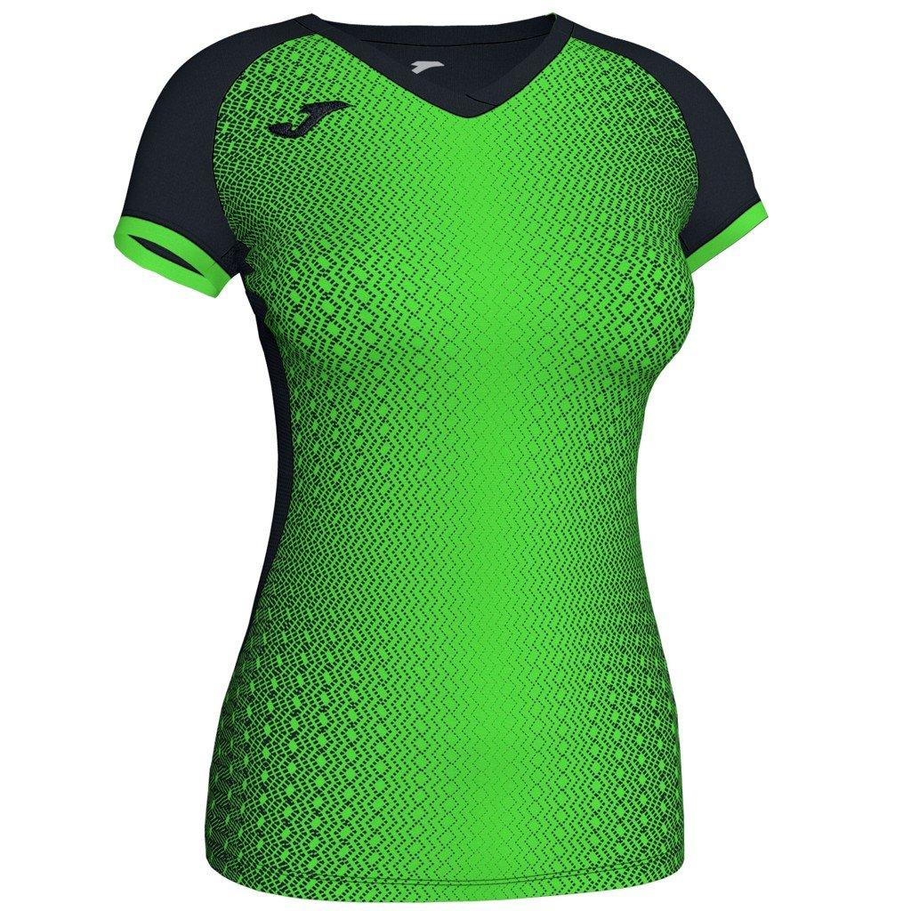 Dámský sportovní dres Joma Supernova - černá/fluo zelená