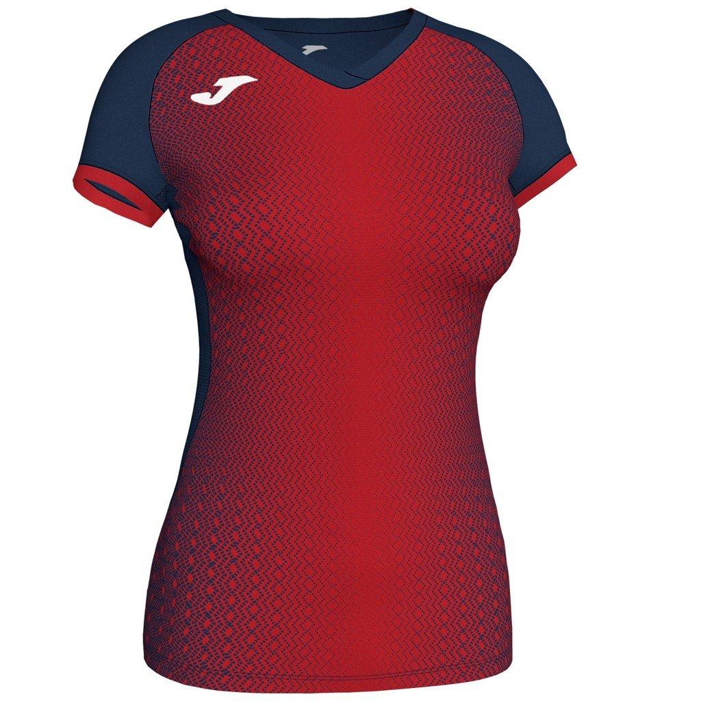 Dámský sportovní dres Joma Supernova - tmavě modrá/červená