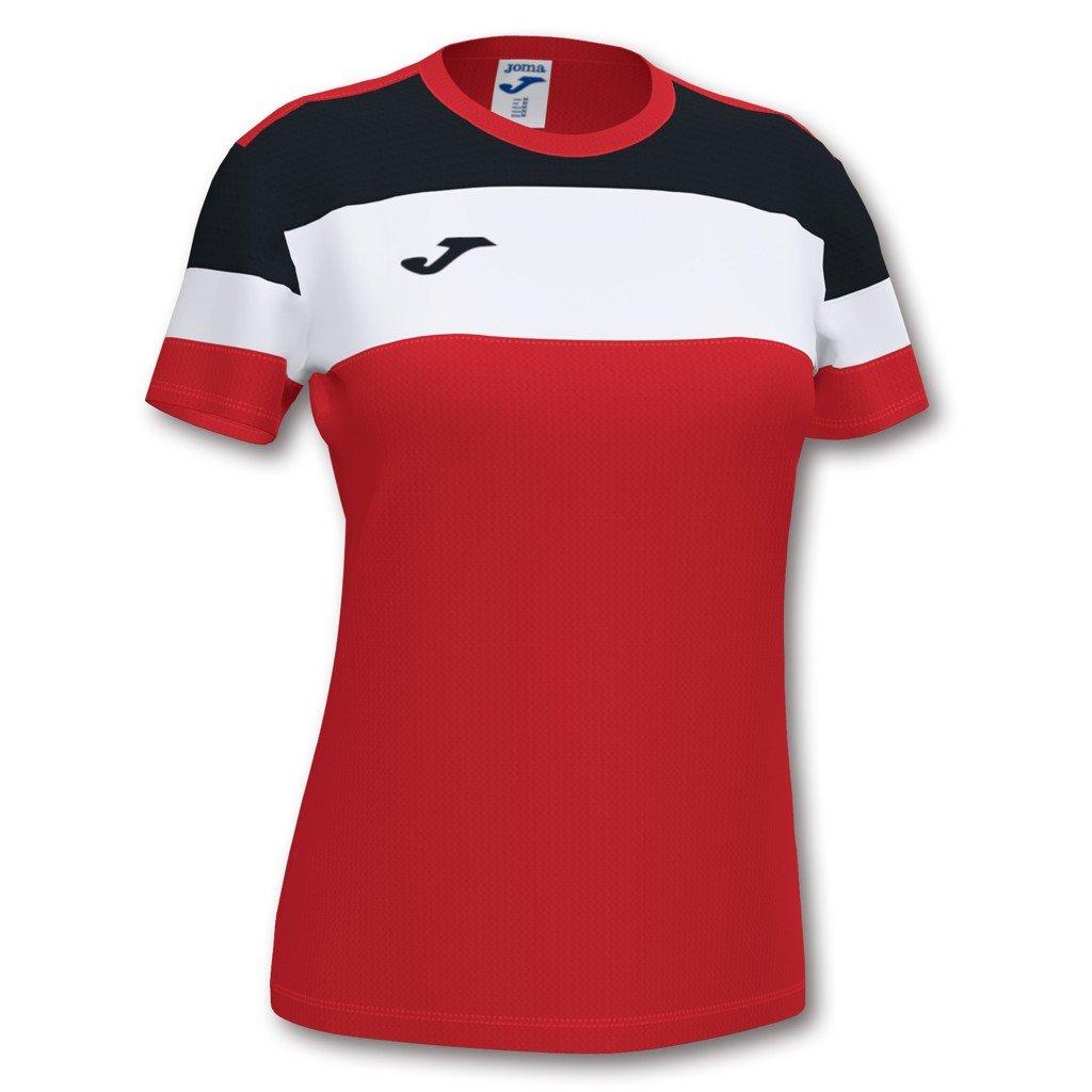 Dámský sportovní dres Joma Crew IV - červená/černá
