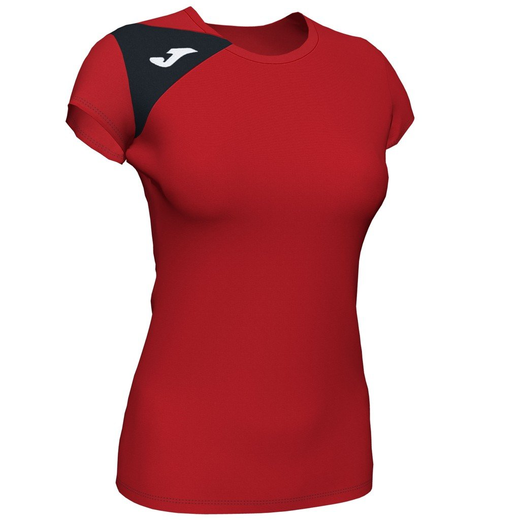 Dámský sportovní dres Joma Spike II - červená/černá