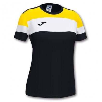 Dámský sportovní dres Joma Crew IV - černá/žlutá