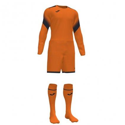 Brankářský dres + trenýrky + štulpny Joma Zamora II - oranžová