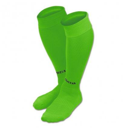 Sportovní štulpny Joma Classic II - fluo zelená