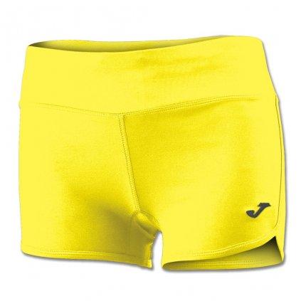 Dámské sportovní šortky Joma Stella II - žlutá