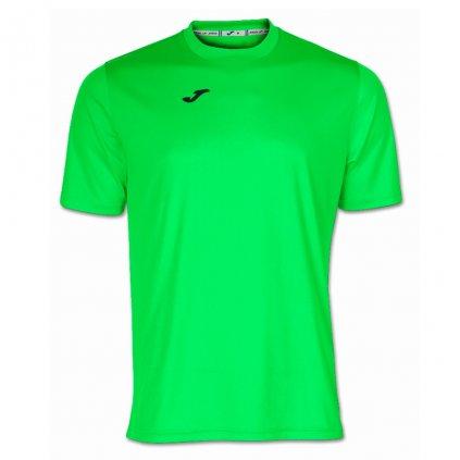 Tréninkové triko Joma Combi - fluo zelená