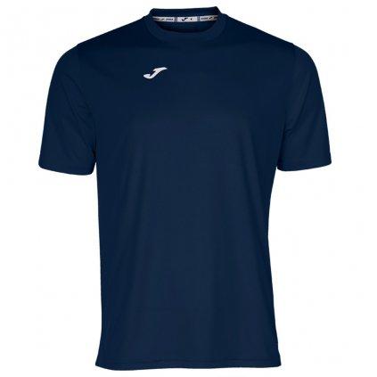 Tréninkové triko Joma Combi - tmavě modrá