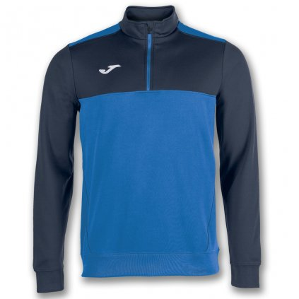 Sportovní mikina s 1/2 zipem Joma Winner - modrá/tmavě modrá