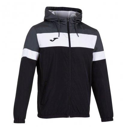 Sportovní bunda Joma Crew IV - černá/šedá