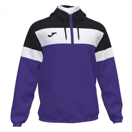 Sportovní bunda Joma Crew IV - fialová/černá