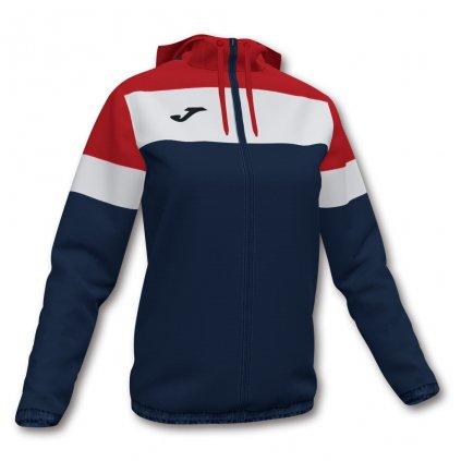 Dámská sportovní bunda Joma Crew IV - tmavě modrá/červená