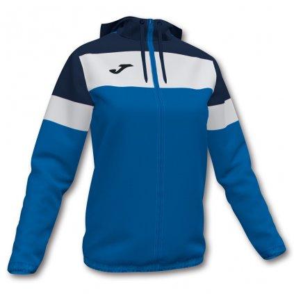 Dámská sportovní bunda Joma Crew IV - modrá/tmavě modrá