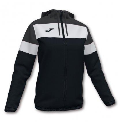 Dámská sportovní bunda Joma Crew IV - černá/šedá