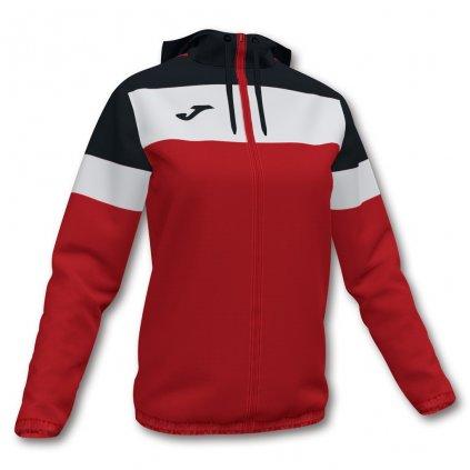 Dámská sportovní bunda Joma Crew IV - červená/černá