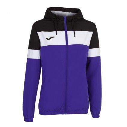 Dámská sportovní bunda Joma Crew IV - fialová/černá