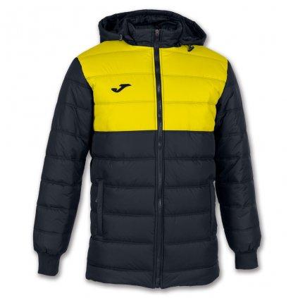 Zimní bunda Joma Urban II - černá/žlutá