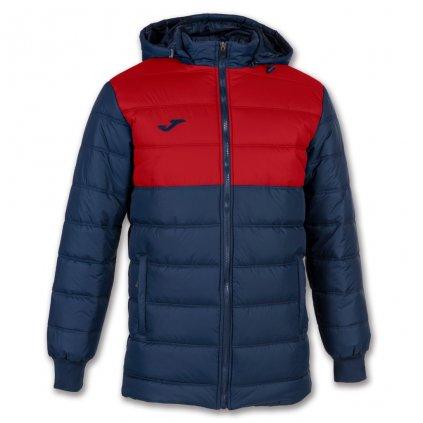 Zimní bunda Joma Urban II - tmavě modrá/červená