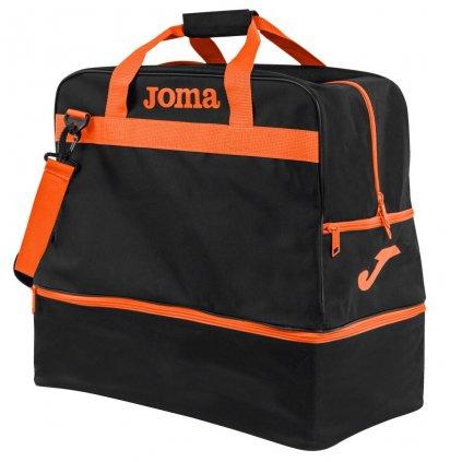 Sportovní taška Joma Training III - černá/oranžová
