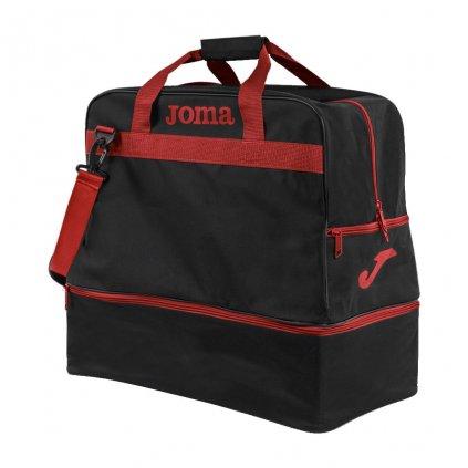 Sportovní taška Joma Training III - černá/červená