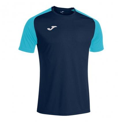 Sportovní dres Joma Academy IV - tmavě modrá/fluo tyrkysová