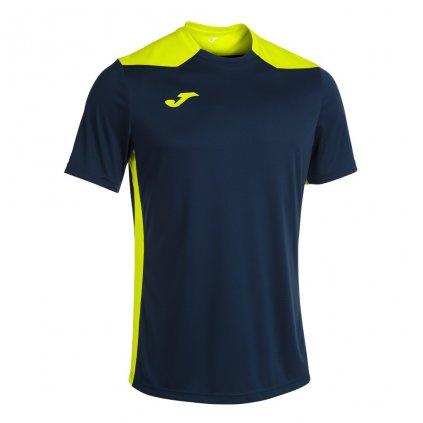 Sportovní dres Joma Championship VI - tmavě modrá/fluo žlutá