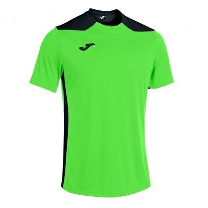 Sportovní dres Joma Championship VI - fluo zelená/černá