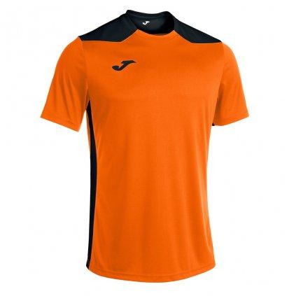Sportovní dres Joma Championship VI - oranžová/černá