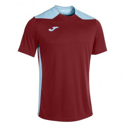 Sportovní dres Joma Championship VI - vínová/světle modrá