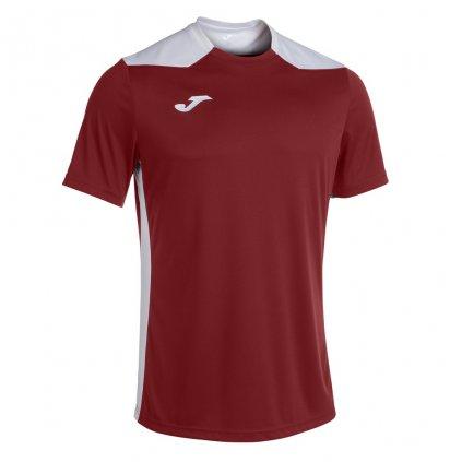 Sportovní dres Joma Championship VI - vínová/bílá