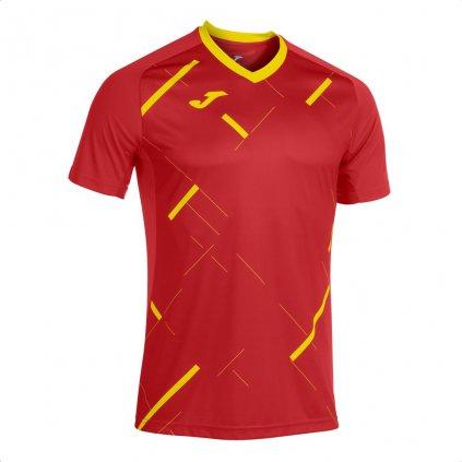 Sportovní dres Joma Tiger III - červená/žlutá