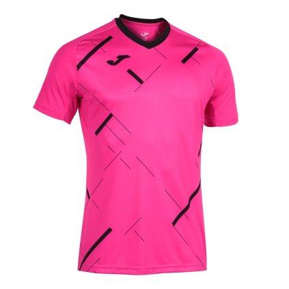 Sportovní dres Joma Tiger III - fluo růžová/černá
