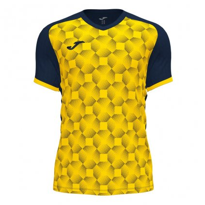 Sportovní dres Joma Supernova III - žlutá/tmavě modrá