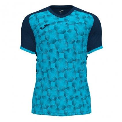 Sportovní dres Joma Supernova III - fluo tyrkysová/tmavě modrá