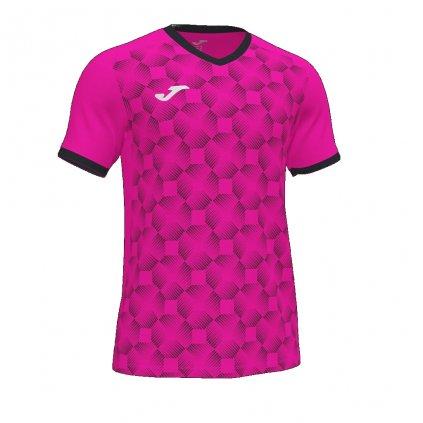 Sportovní dres Joma Supernova III - fluo růžová/černá