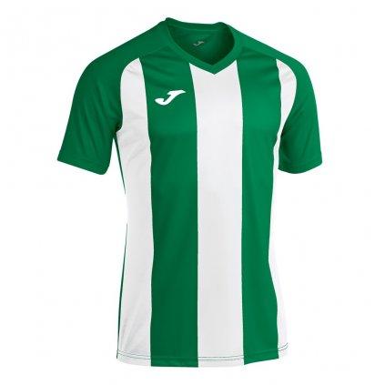 Sportovní dres Joma Pisa II - zelená/bílá
